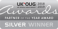 UKOUG Partner of the Year Silver Winner 2019