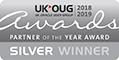 UKOUG Partner of the Year Silver Winner 2019
