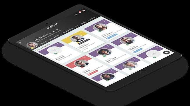 Applaud HR Platform iPad